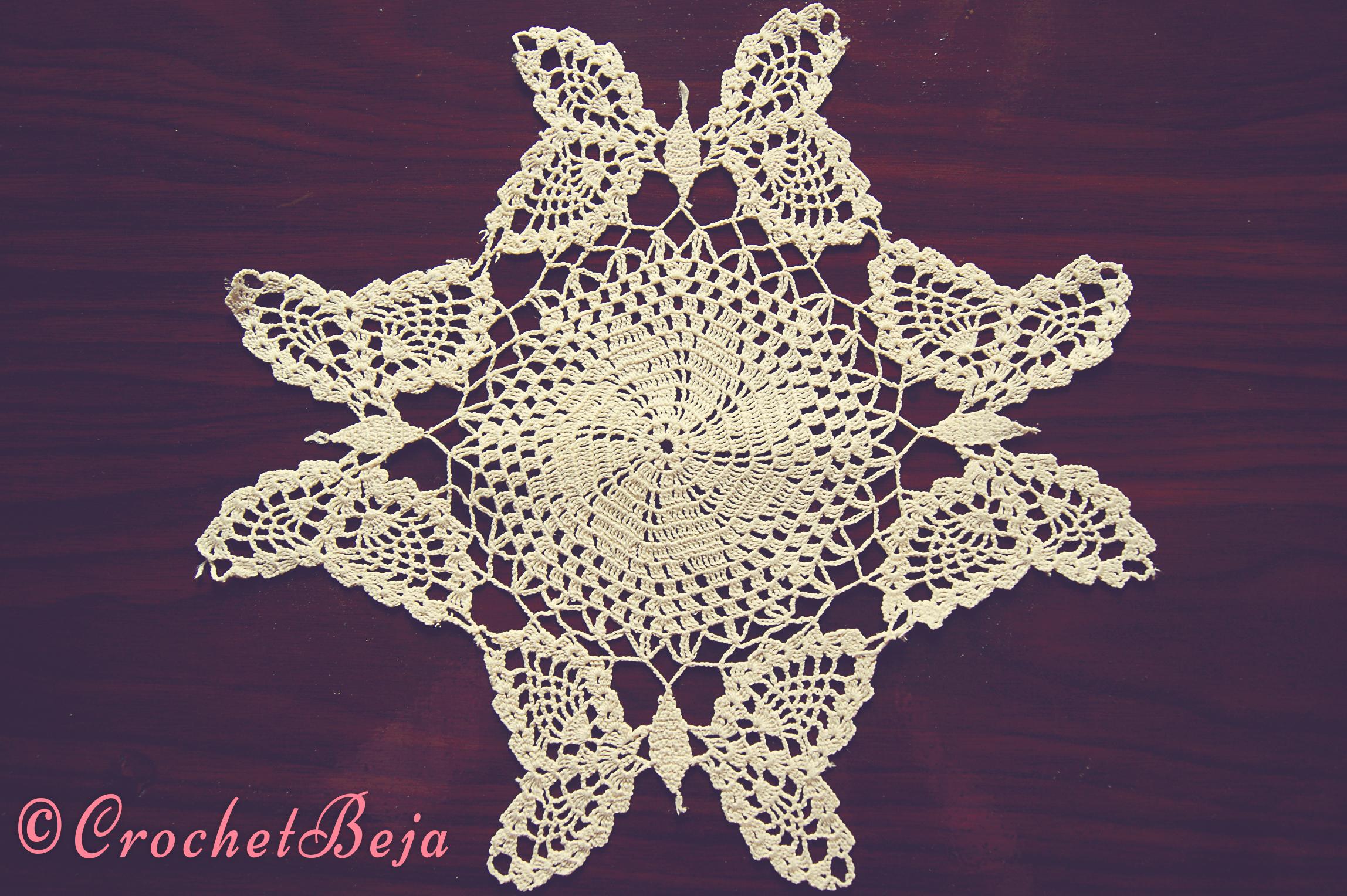 Marvellous Butterfly Doily CrochetBeja