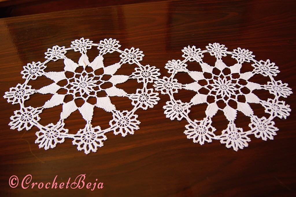Two Symmetric Doilies