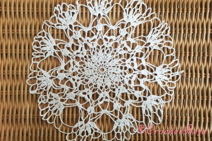 Marvelous White Doily