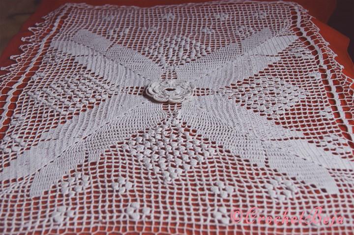 White Crochet Artwork