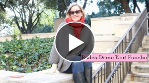 How To Knit A Poncho – Video Tutorial