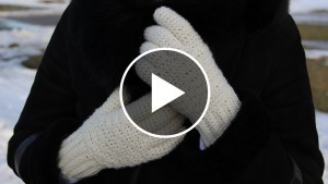 Winter Crochet Gloves – Video Tutorial