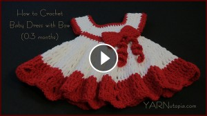Baby Dress Crochet – Video Tutorial