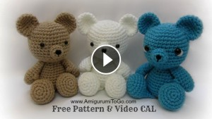 Teddy Bear Crochet – Video Tutorial
