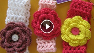 Crochet Headbands For Girls Tutorial
