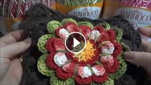 Crochet Flower Doily – Video Tutorial