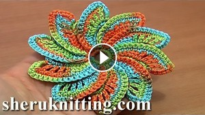 Spiral Flower Crochet – Pattern & Video Tutorial