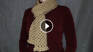 Knit Wonderful Scarf – Video Tutorial