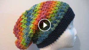 Crochet Slouch Hat – Video Tutorial