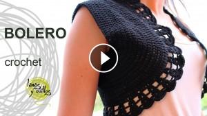 Crochet Beautiful Bolero – Video Tutorial