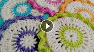 Crochet Lotus Bloom Dishcloths – Video Tutorial