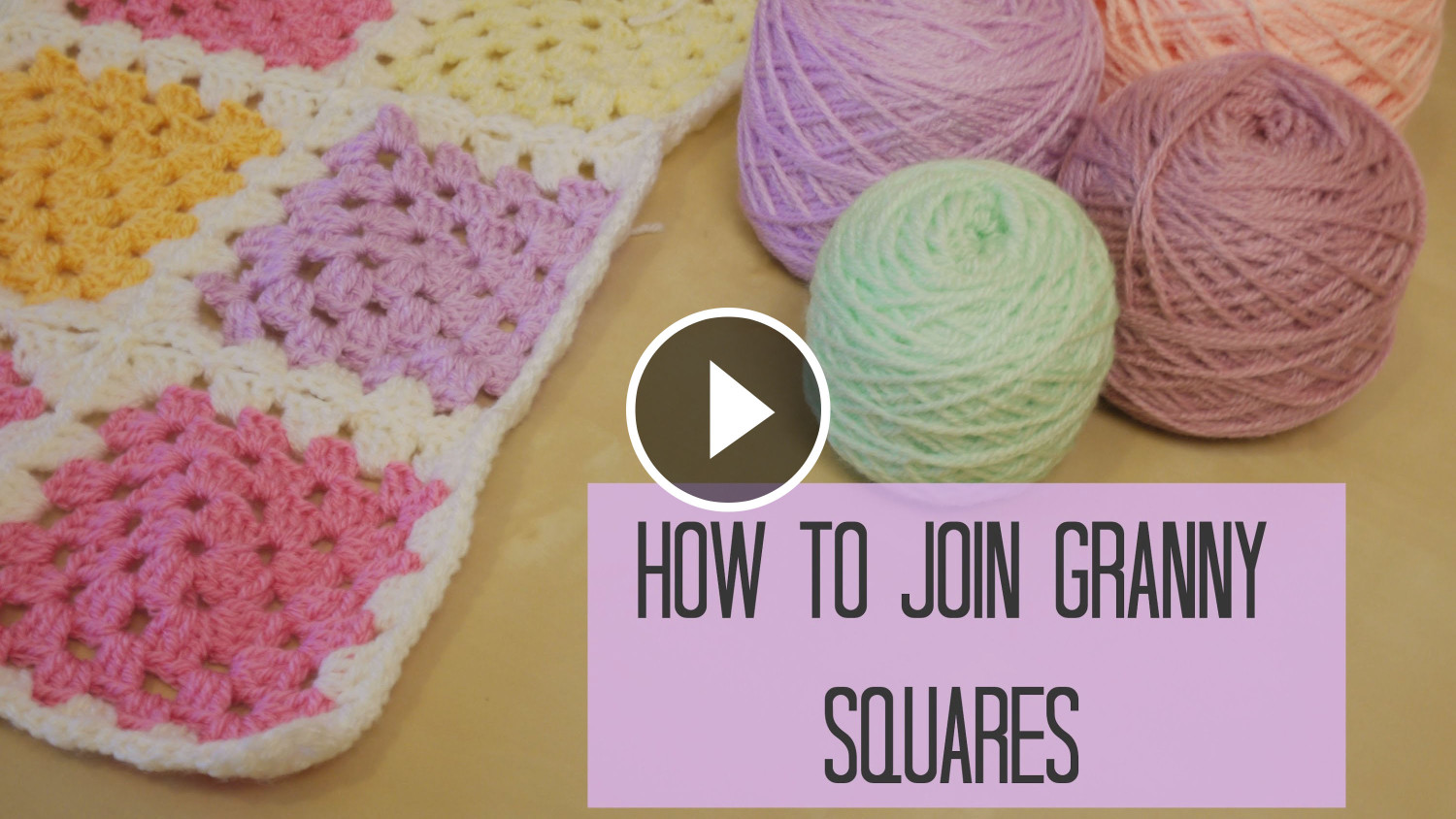 Crochet Tutorial Joining Squares : Join Granny Squares Crochet And Knitting Blog by Beja