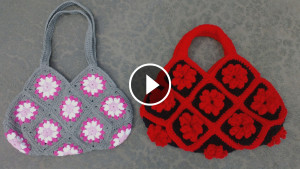 Crochet Granny Square Bag Tutorial