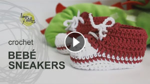 Crochet Baby Sneakers – Video Tutorial