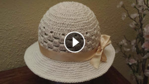 Crochet Summer Bonnet – Video Tutorial