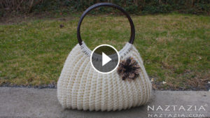 Crochet Handbag Purse – Video Tutorial