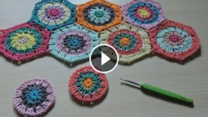 Crochet Granny Hexagons Tutorial