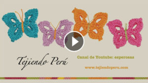 Crochet Lovely Butterflies – Video Tutorial