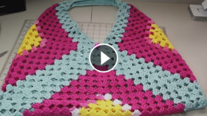 Easy Crochet Beach Bag – Video Tutorial