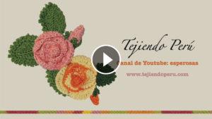 Crochet Rose Flower Tutorial