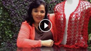 Crochet Stunning Red Vest – Video Tutorial