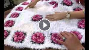 Crochet Hearts Shape Carpet Tutorial