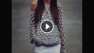 Crochet Summer Sweater – Video Tutorial