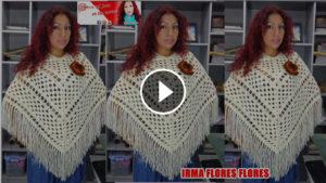 Crochet Stunning Poncho – Video Tutorial