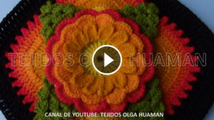 Crochet Flower Granny Square Pattern