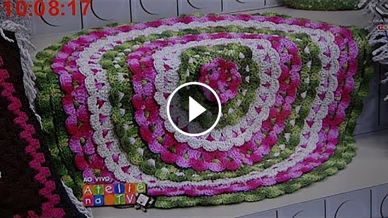 Crochet Flower Carpet Tutorial