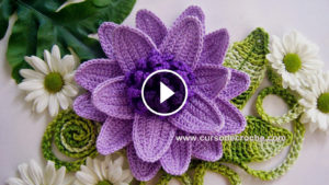 Crochet Voluminous Flower Tutorial