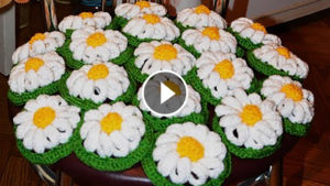 Crochet Chamomile Flowers – Pattern & Video Tutorial