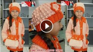 Crochet Amazing Popcorn Hat – Video Tutorial