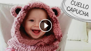 Crochet Lovely Scarf With Ears – Video Tutorial