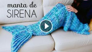 Crochet Mermaid Tail Blanket – Video Tutorial