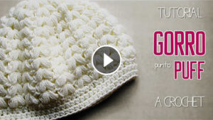 Crochet Puff Point Hat – Video Tutorial