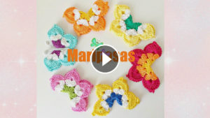Crochet Butterflies Tutorial
