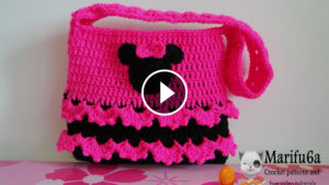 Minnie Mouse Crochet Bag Tutorial