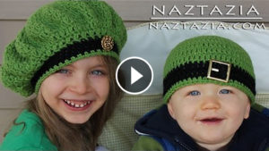 Crochet Adjustable Ring & Irish Beret Hat – Video Tutorial