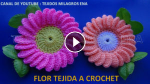Crochet Margarita Flower – Video Tutorial