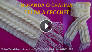 Crochet Amazing Scarf – Video Tutorial