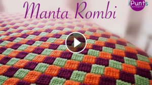 Crochet Rhombus Blanket – Video Tutorial