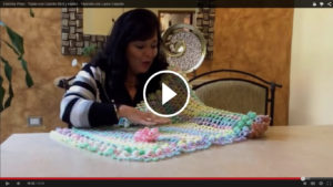 Learn To Crochet Woven Bedspread – Pattern & Video Tutorial