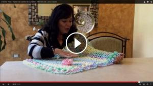 Learn To Crochet Woven Bedspread – Pattern & Video Tutorial