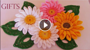 Beautiful Crochet Flowers Pattern Tutorial