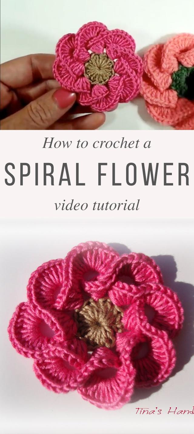 Easy Crochet 3d Flower You Need To Make Crochetbeja,Mofongo Recipe El Boricua