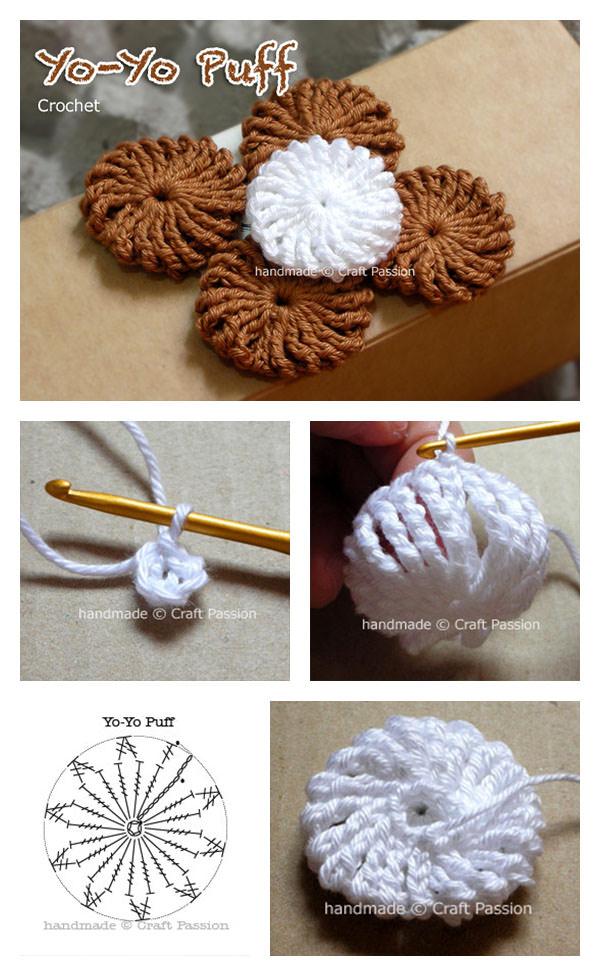 Puff Crochet Blanket Pattern