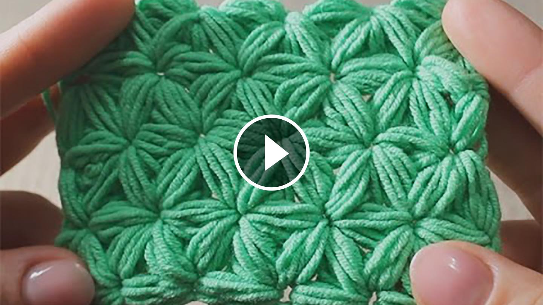 Видеоурок вязание спицами звездочек