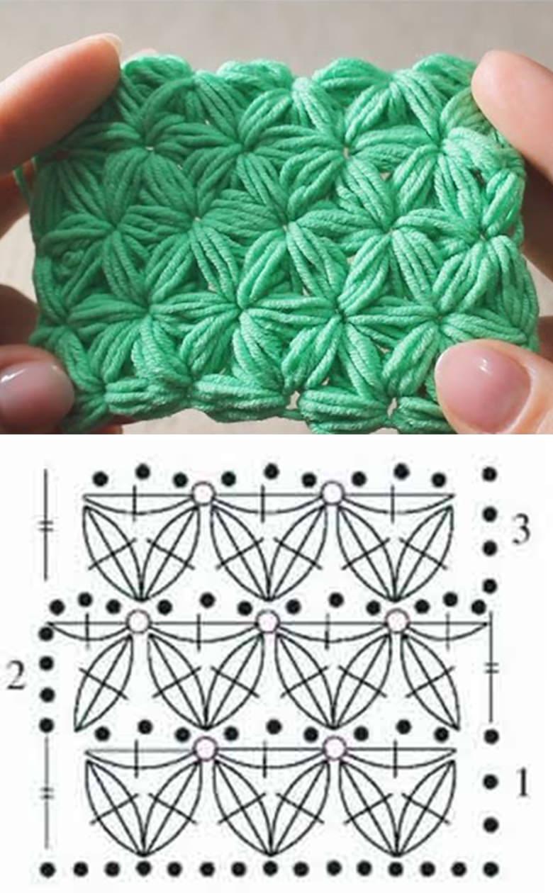 Jasmine Stitch Crochet Pattern