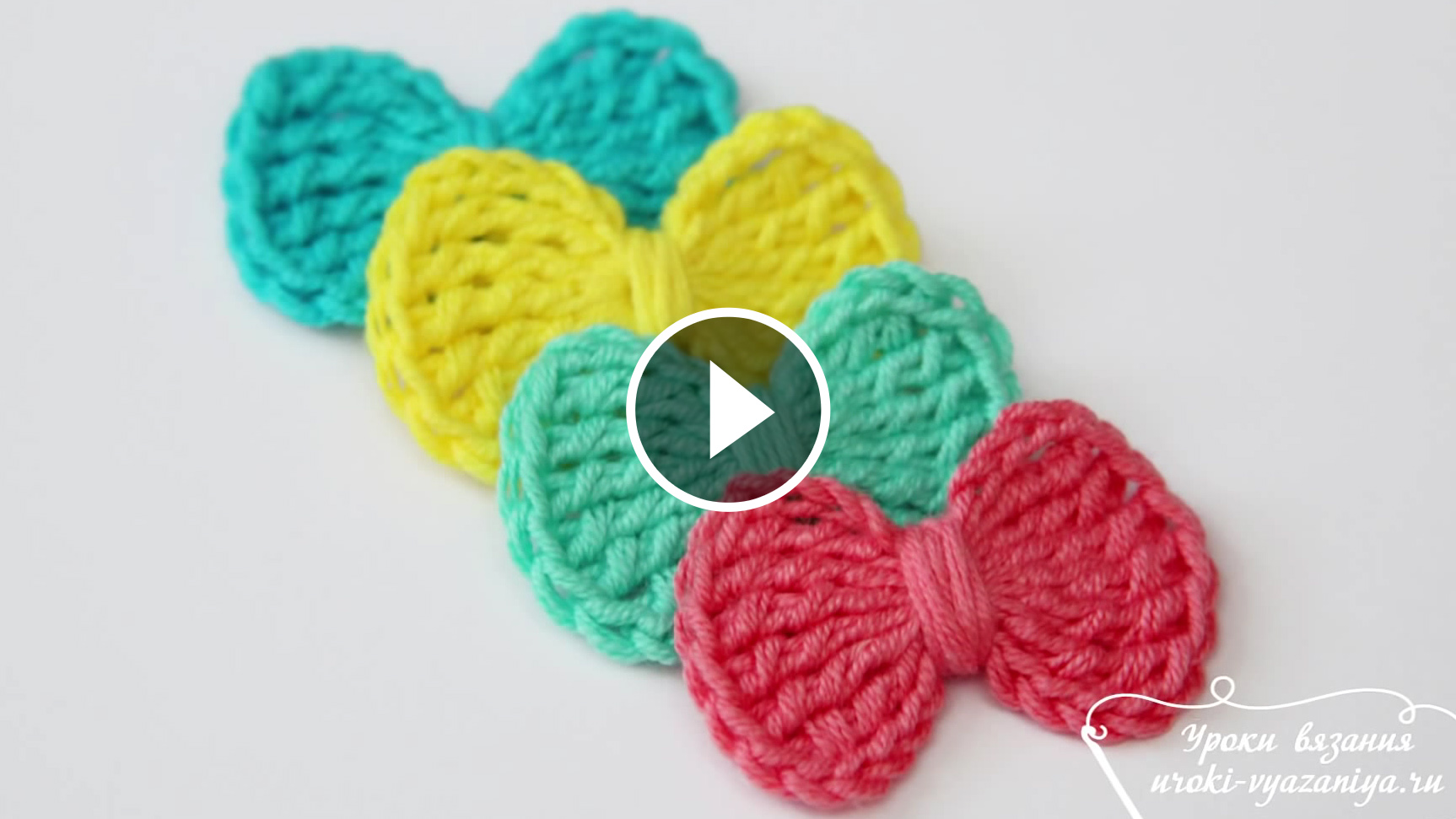 Lovely Crochet Bows Free Pattern And Tutorial | CrochetBeja